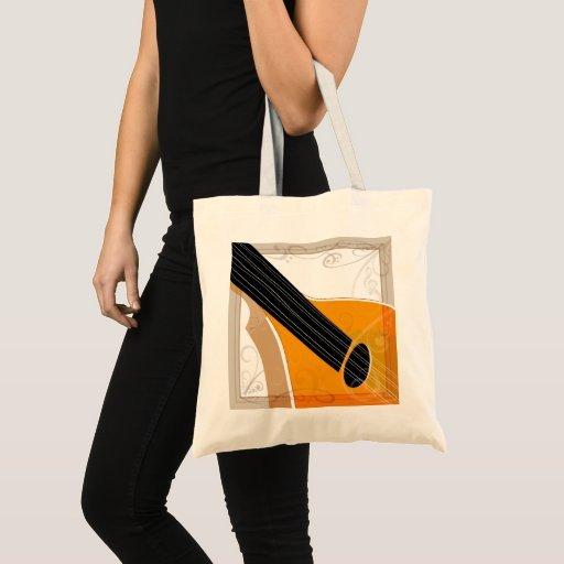 Bouzouki Musical Instrument Art Tote Bag