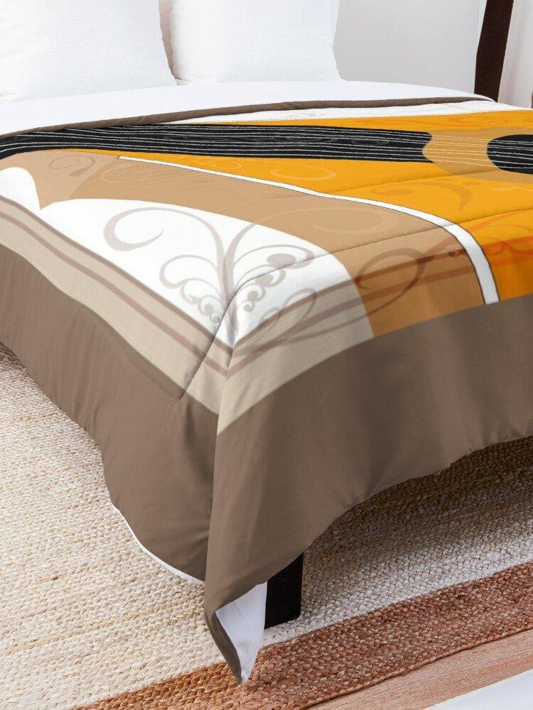 Bouzouki Musical Instrument Art Comforter/Quilt